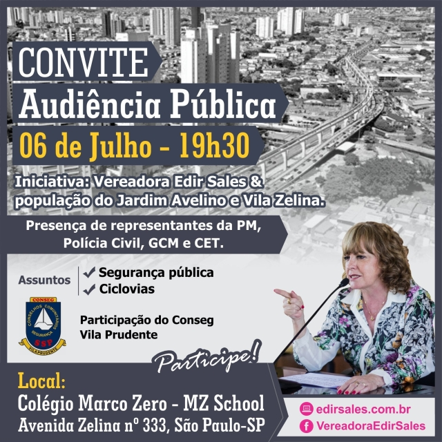 CONVITE-AUDIÊNCIA CONSEG
